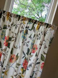 just another hang up repurposing fabric kitchen curtains