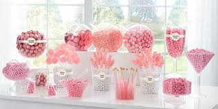 candy containers for favors light pink candy buffet supplies light pink candy containers