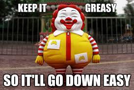 Clown Memes - greasy clown memes quickmeme funny pinterest memes clown