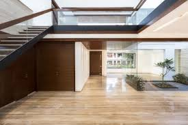 homes with interior courtyards a sleek modern home with indian sensibilities and an interior
