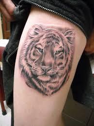 feminine tiger for design idea for and