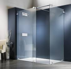 luxury bathroom shower glass partition in home remodel ideas with
