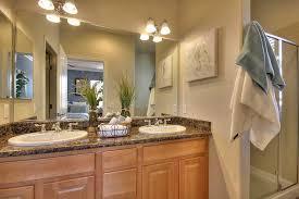 European Bathroom Lighting Traditional 3 4 Bathroom With Specialty Door U0026 Double Sink In San