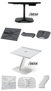 Car Laptop Desk by Laptop Stand Table Lap Desk In White Black Lapdesk For Macbook