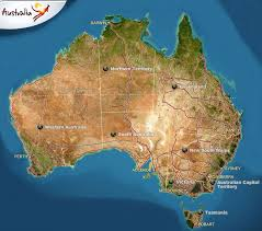 australia satellite map oz 2010 planning pages