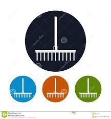 Garden Rake Types - garden rake icon garden equipment stock vector image 84177277