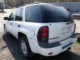 chevrolet trailblazer white 2002 chevrolet trailblazer ls quality used oem replacement parts