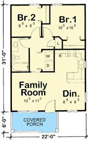 House Map Design 20 X 40 1 Bedroom House Plans Floor Plans Madison House Cabin
