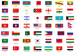 Map Of Asia Countries Flags Of All Countries In Asia Image Gallery Hcpr