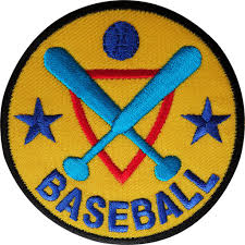 Flag Badges Embroidered Baseball Patch Embroidered Badge Sports Embroidery Applique Iron