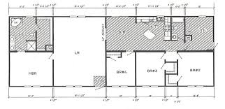 4 Bedroom Single Wide Floor Plans Double Wide Mobile Home Floor Plans And S Carpet Vidalondon