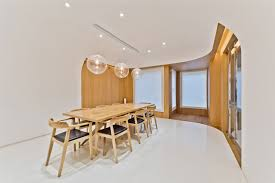 architecture dining room villa located in the chaoyang district