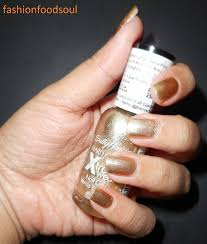 nails of the day sally hansen hard as nails xtreme wear in golden
