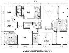 clayton triple wide mobile homes quadruple wide mobile home floor plans 5 bedroom 3 bathrooms