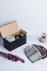 knitting kits tweed