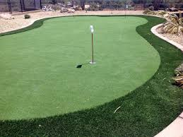 Artificial Backyard Putting Green by How To Install Artificial Grass Marcellus Michigan Putting Green