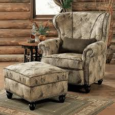brown chair and ottoman pinecone dusk chair ottoman