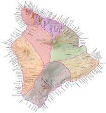 Map Hawaii Islandbreath Hawaiian Ahupuaa
