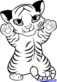 coloring pages of cute baby tigers google search coloring