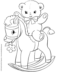 teddy bear coloring pages the sun flower pages