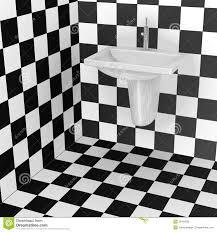 bathroom tiles black and white pattern
