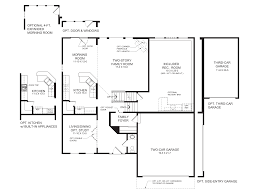 Floor Plan Homes Fischer Homes Blair Floor Plan Floor Decoration