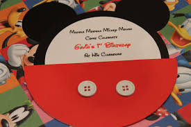 Mickey Mouse Invitation Card Sillyness Abounds Mickey Mouse Invitation