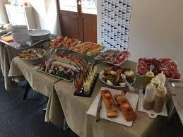 buffet pour cuisine buffet d entrées à volonté pour le brunch picture of cafe gourmand