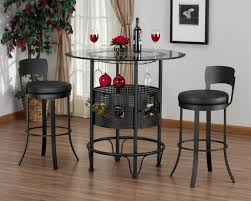 bar top kitchen table dining room rounded glass top dining table mixed with upholstered