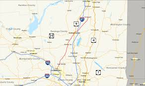 Saratoga State Park Map New York State Route 50 Wikipedia