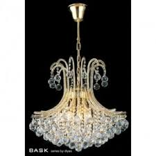 Asfour Crystal Chandelier Diyas Frances 14 Light Asfour Crystal Chandelier Pendant In French
