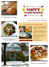 read our november december thanksgiving news maryann