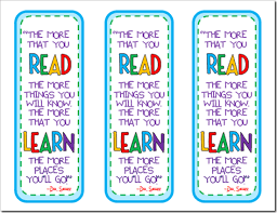 printable bookmarks for readers dr seuss quote bookmarks dr seuss pinterest bookmarks