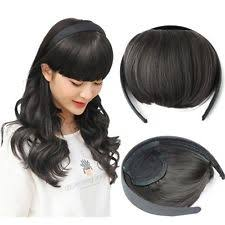 bellissima hair extensions headband bangs women s hair extensions ebay