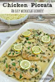 Chicken Piccata Cooking Light Chicken Piccata Recipe Easy Weeknight Dinner