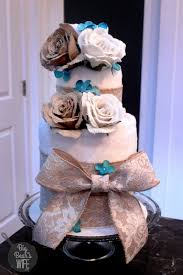 how to make a towel cake for a bridal shower big s