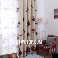 boys bedroom curtains or boys bedroom blackout best cheap beige spiderman curtains