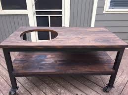 hatch cover table craigslist refurbished table craigslist find big green egg egghead forum
