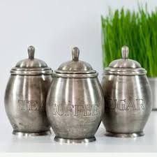 metal canisters kitchen silver tea and coffee canisters the coffee table