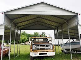 Ebay Carport Steel Building 42x21 Carport Barn Style Metal Shelter Garage Free