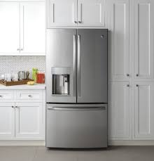 ge profile series energy star 22 2 cu ft counter depth french