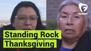 thanksgiving message for friends a thanksgiving message from standing rock youtube