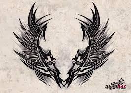 subliminal tribal wings 1 by gradle on deviantart
