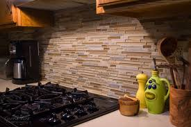 Mosaic Tile Kitchen Backsplash Winsome Mosaic Tiles Kitchen Backsplash Are Installed Cool