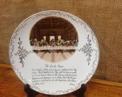 lord s supper plates supper plate etsy