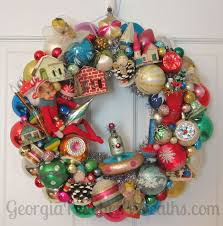 346 best vintage ornament wreaths images on