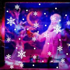 christmas snowflake stick wall art decal mural home room decor