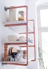 How To Make A Pipe Bookshelf Diy Copper Pipe Shelf Detailed Tutorial Heylilahey
