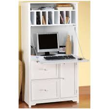 Computer Hutch Desk With Doors Desks Home Office Furniture The Home Depot