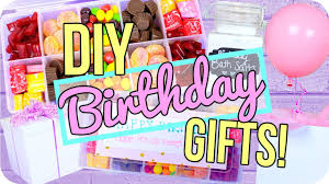 birthday gifts for easy diy birthday gifts